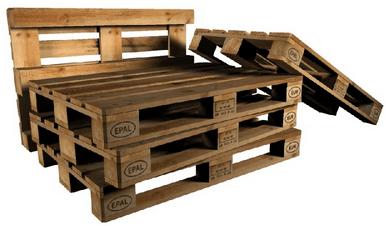 Palletspoed - Nieuwe pallets